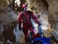 Abo - potápěčPotápění v jeskyních, Slovenský kras