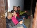 Barbora Kýšková s doutníkem jak pařez - to je ženská!Potápění v jeskyních, Slovenský kras