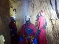 Tři muži bez nemluvnětePotápění v jeskyních, Slovenský kras